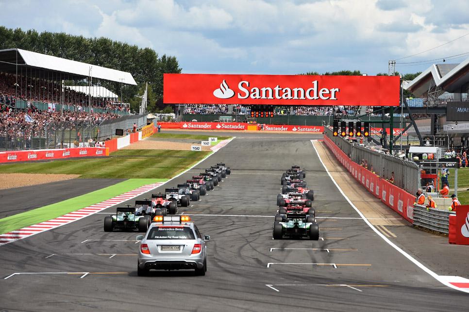 GP Gran Bretaña 2014: la carrera