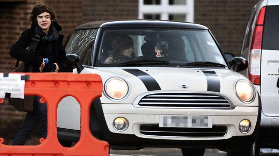 Los coches de One Direction