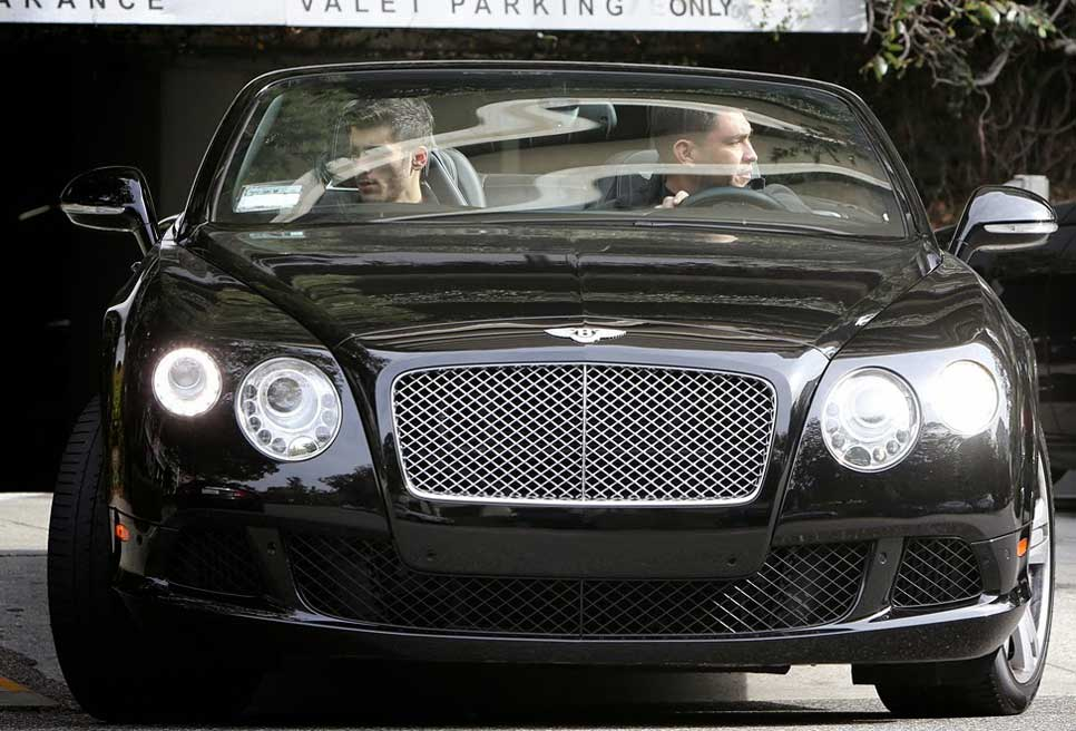 Bentley Continental GT de Zayn Malik