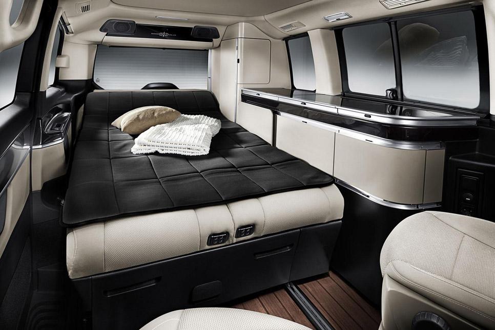 Assez Mercedes Clase V Marco Polo, camping rodante. Precios | Novedades  GP73