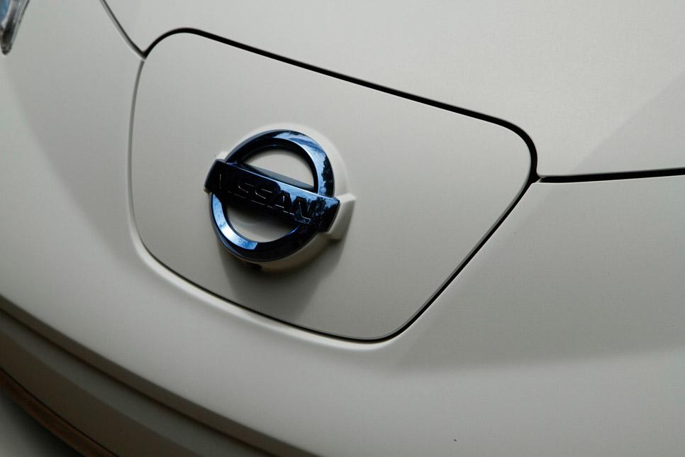 El Nissan Leaf que se limpia solo