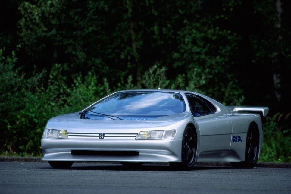 Top 5 de prototipos de Peugeot
