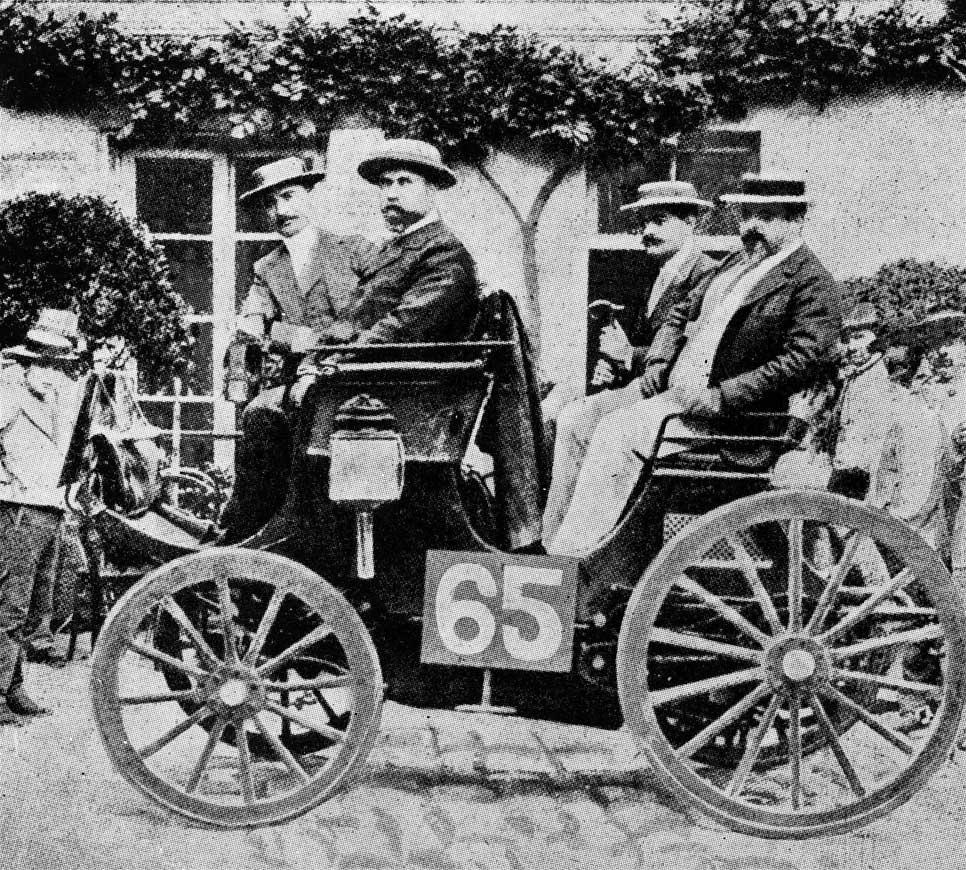 La primera carrera de coches de la historia