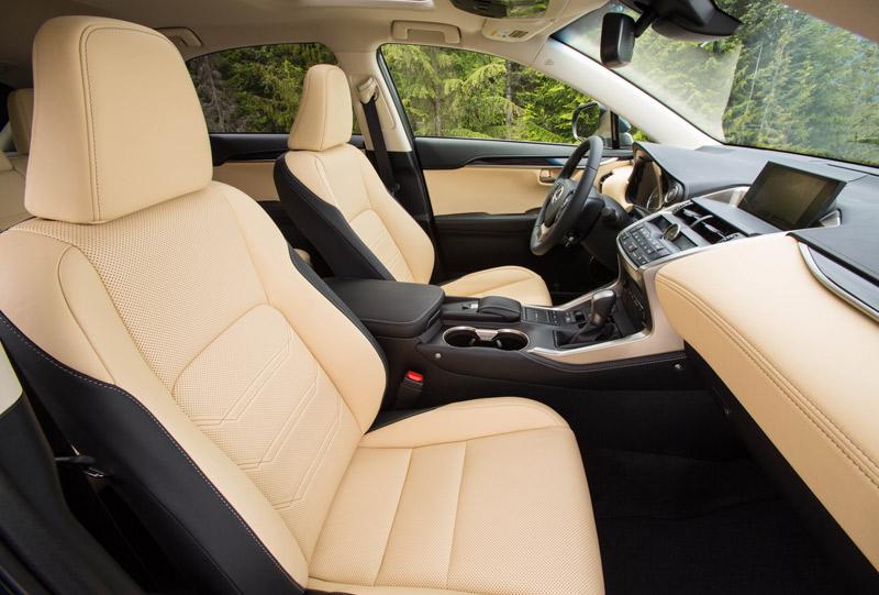 Prueba del Lexus NX 300h