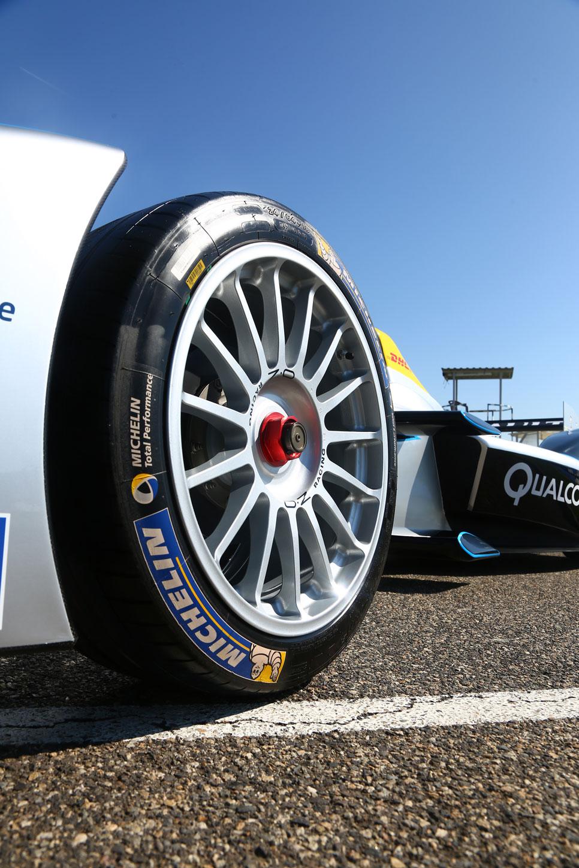 Michelin en la Fórmula E