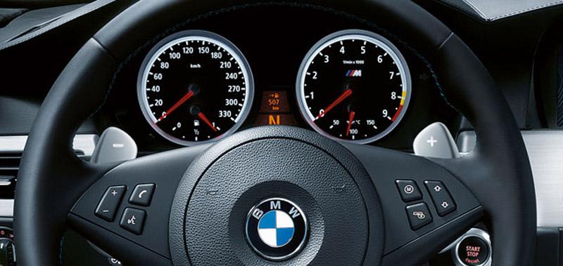 Levas volante cambio automátivo BMW