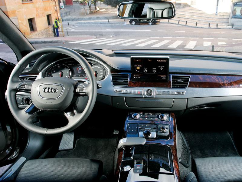 Prueba: Audi A8 3.0 TDI, y se hizo la luz