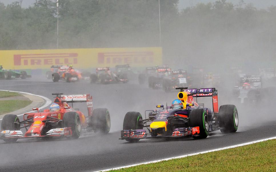 GP Hungría 2014: la carrera