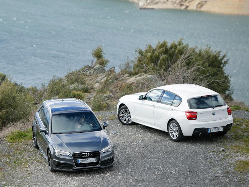 Audi A3 Sportback 2.0 TDI 184 quattro S-tronic contra BMW 120d 184 xDrive 5p