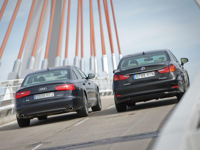 Audi A6 Hybrid 2.0 TFSI vs Lexus GS 300h