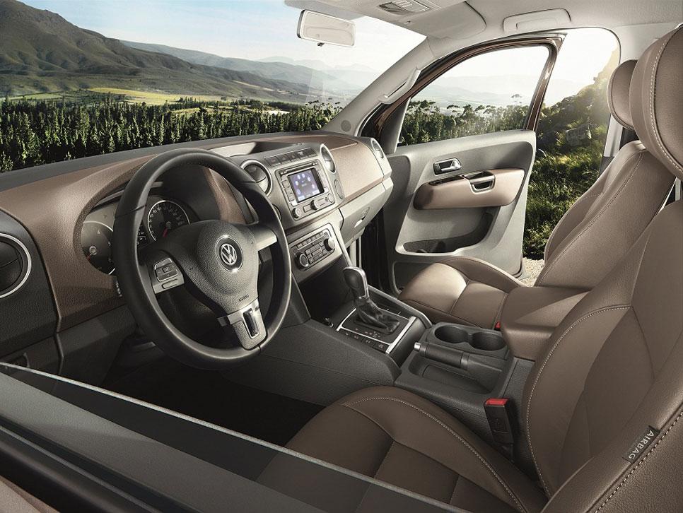 Volkswagen Amarok Highline Edition, pick up a todo lujo