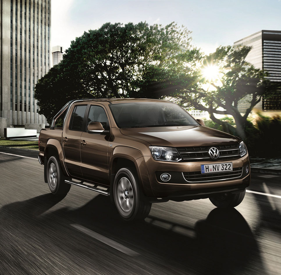 Volkswagen Amarok Highline Edition, pick up a todo lujo