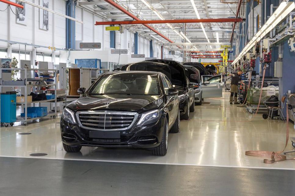 Mercedes Clase S Guard