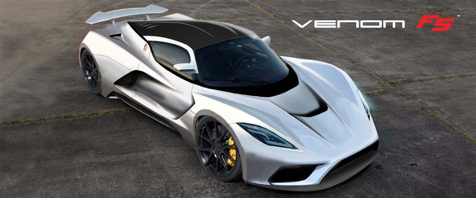 Hennessey Venom GT F5