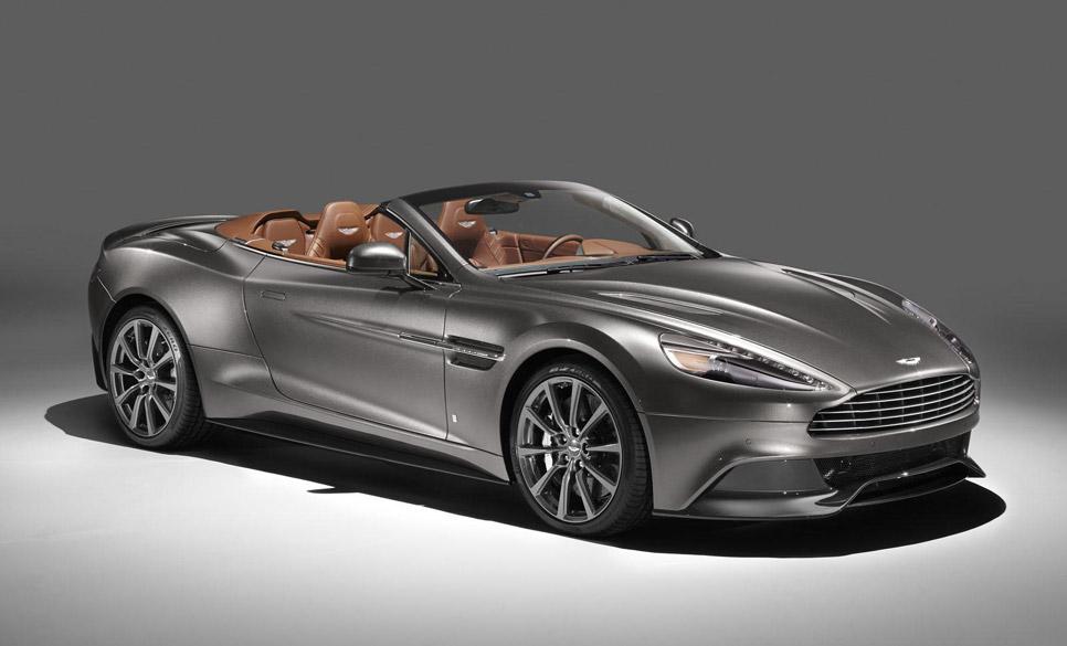 Colección 'Q' de Aston Martin para Pebble Beach 2014