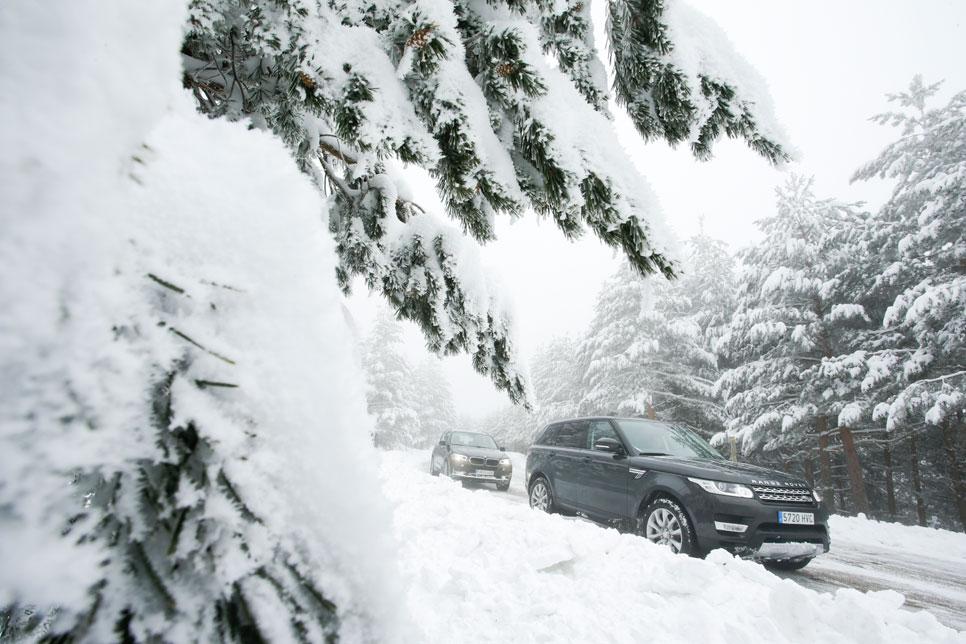 Comparativa: BMW X5 30D Xdrive vs Range Rover Sport 3.0 TDV6