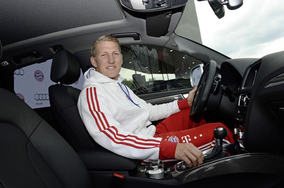 Así se lo pasaron los jugadores del Bayern de Munich en la Audi Driving Experience