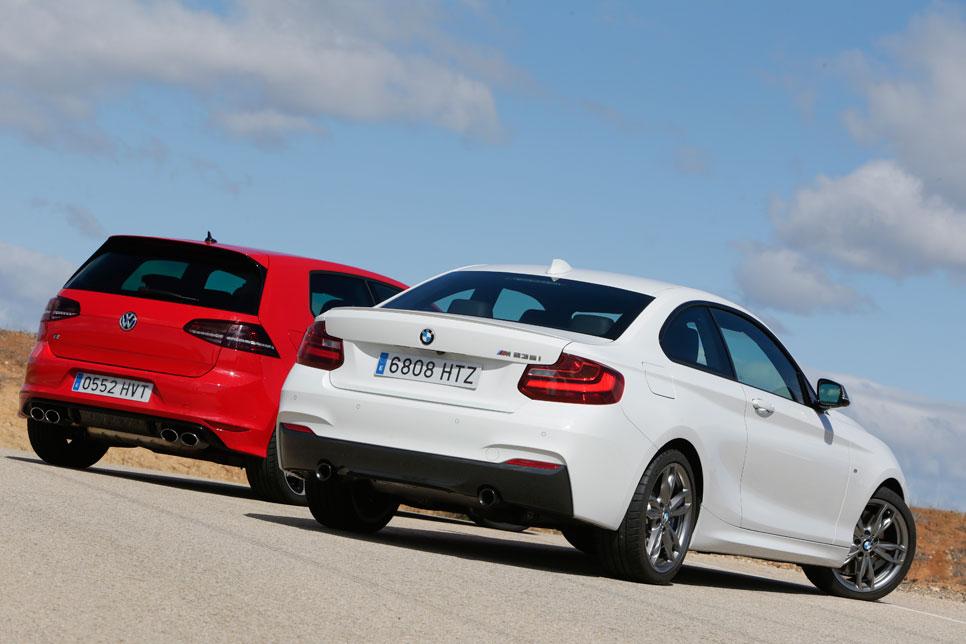 BMW M235I vs Volkswagen Golf R