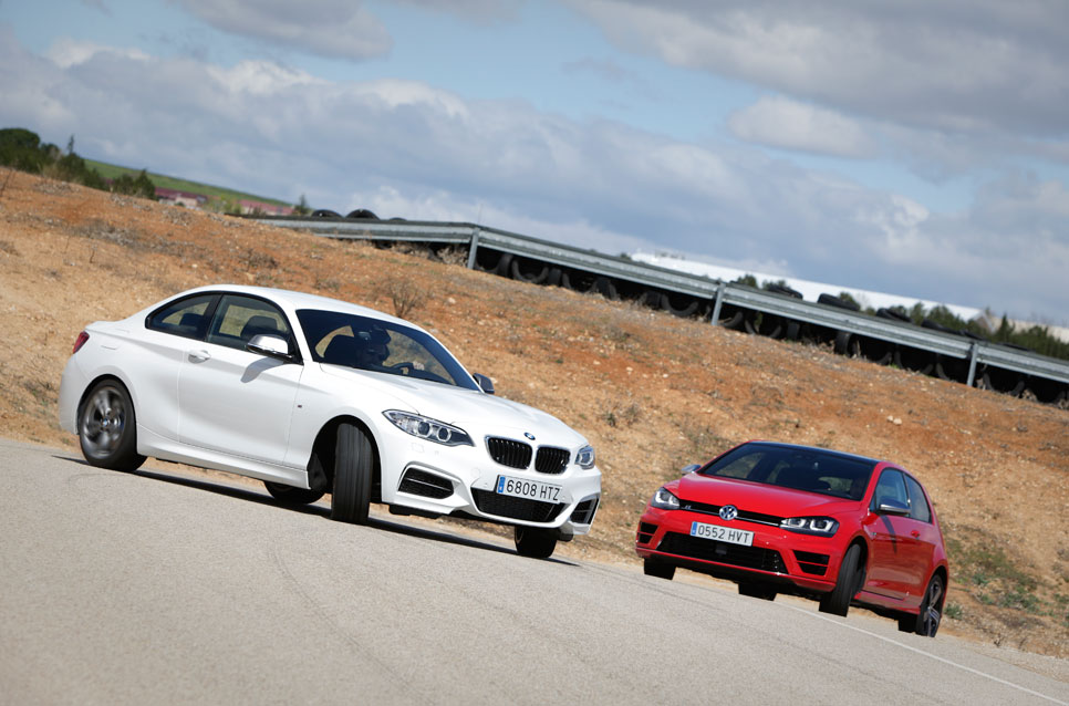 Comparativa: BMW M235I vs Volkswagen Golf R