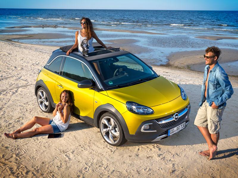 Contacto: Opel Adam Rocks, el guerrero urbano