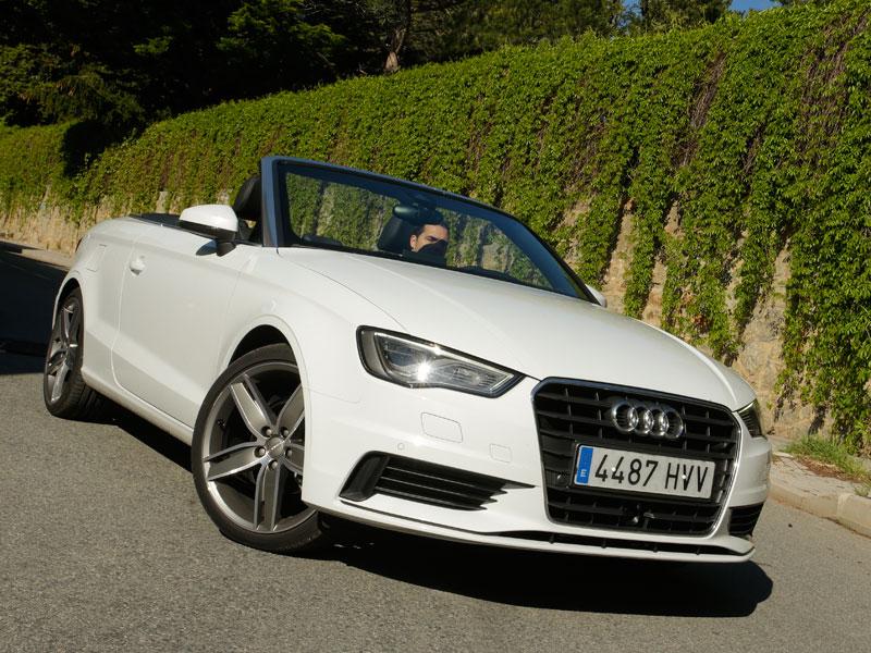 Prueba: Audi A3 Cabrio 2.0 TDi, un A3 con vistas