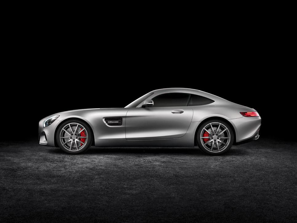 El Mercedes-AMG GT se desvela
