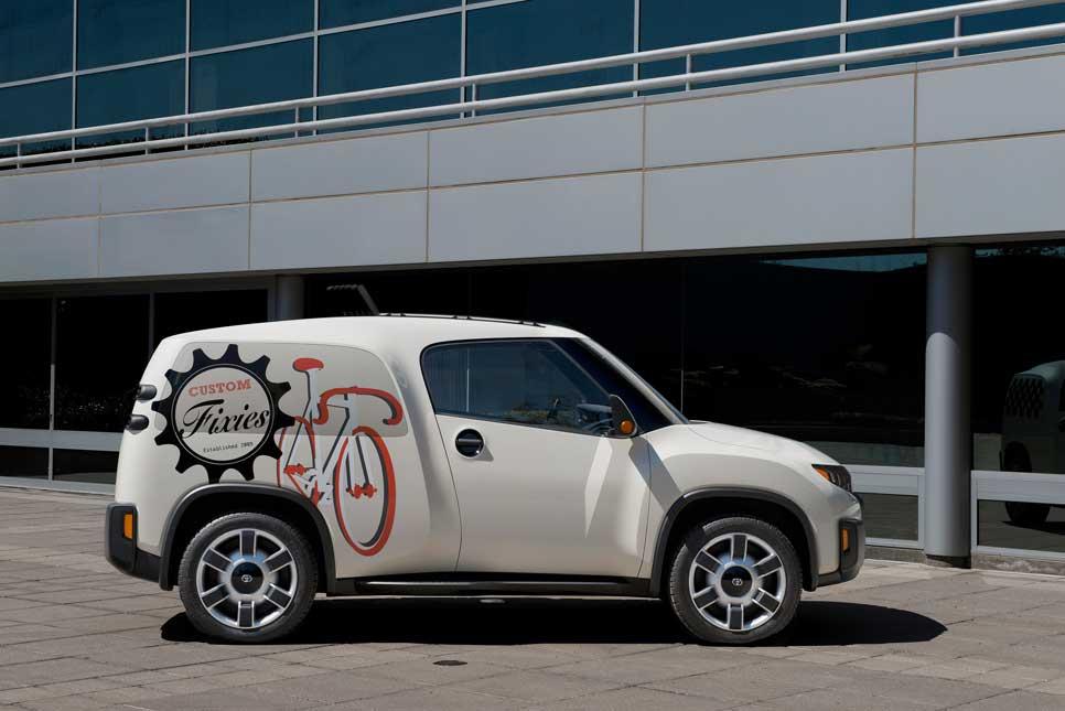 Toyota Urban Utility Concept