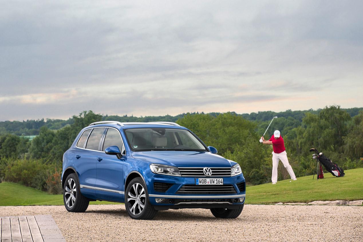 Volkswagen Touareg 2014, más moderno y eficiente