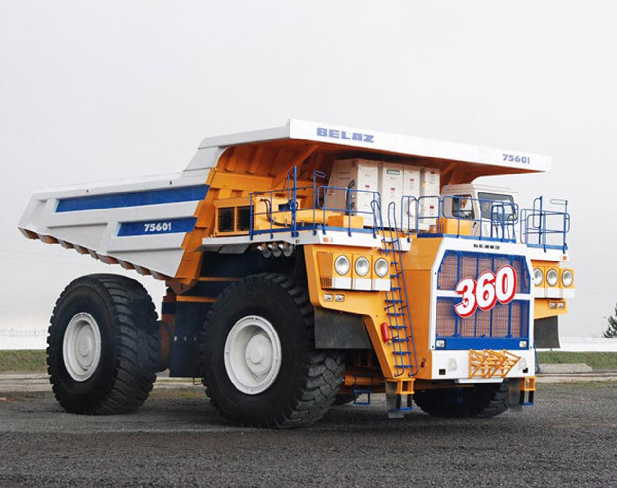 Top 5 de camiones 'dumpers' más espectaculares del mundo