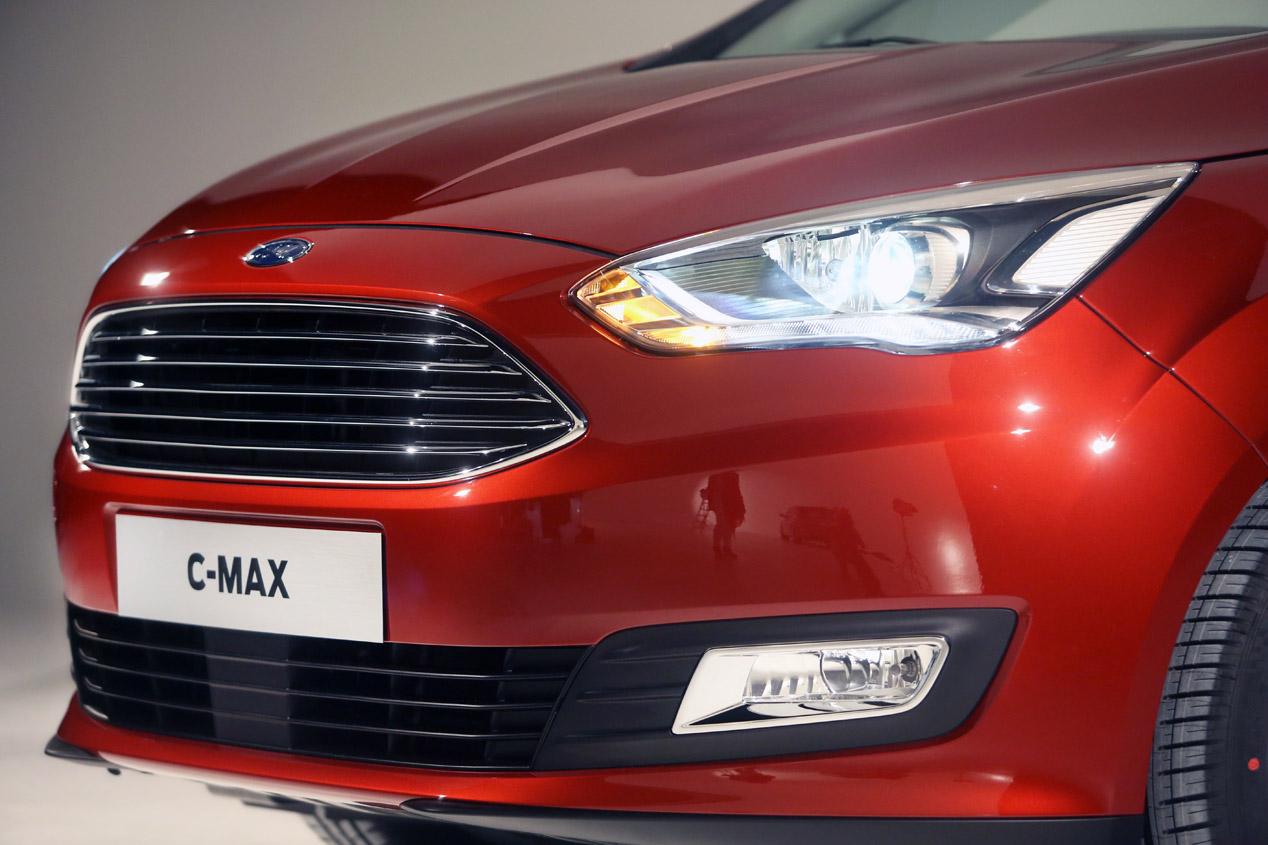 Ford C-Max, lavado de cara y algo más