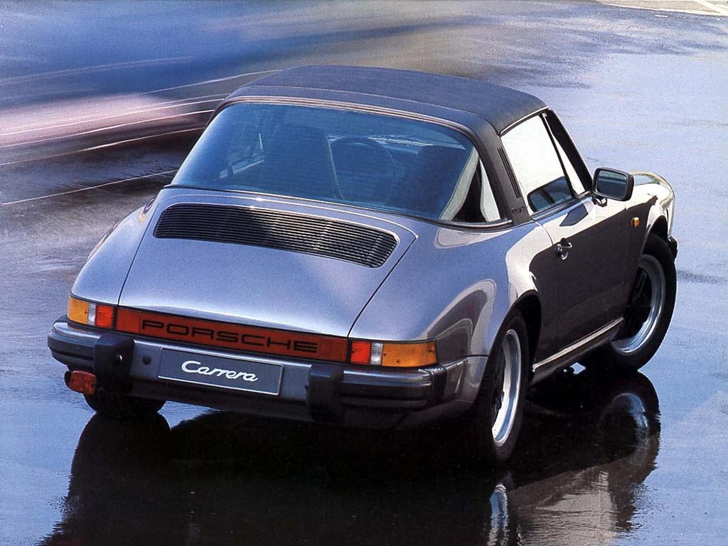 Los techos del Porsche 911 Targa a lo largo de su historia