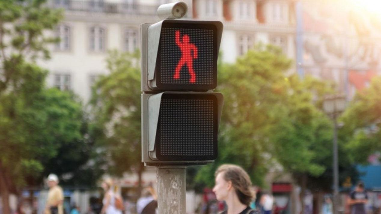 El semáforo que baila de Smart