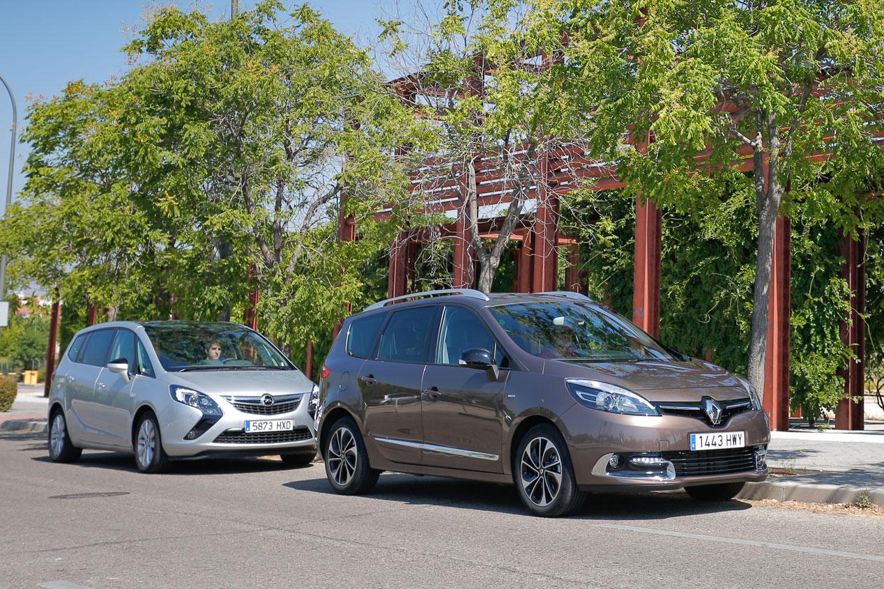 Opel Zafira Tourer 1.6 CDTi 136 CV 7 pl vs Renault Grand Scénic 1.6 dCi 130 CV 7 pl