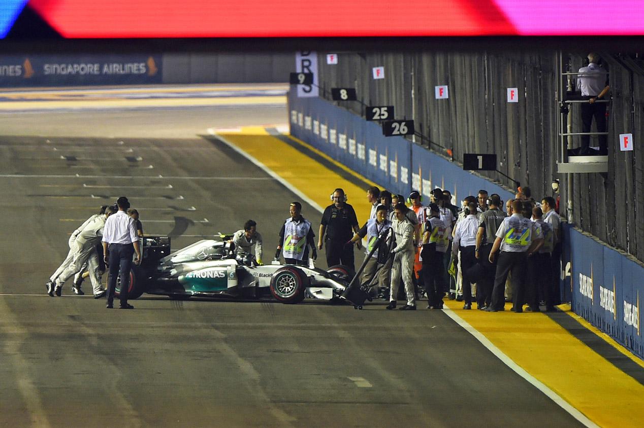 GP Singapur 2014: la carrera