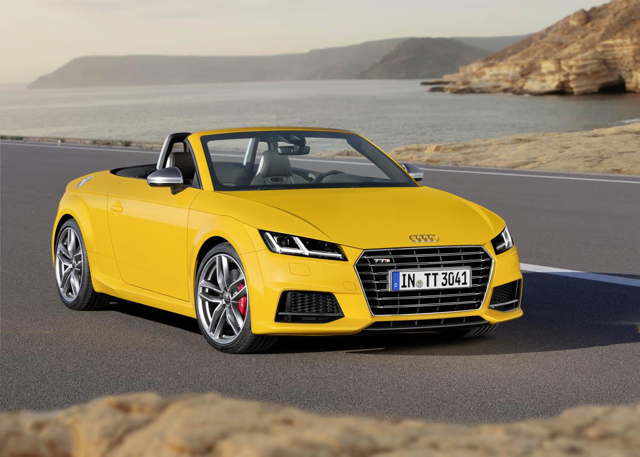 Audi TT Roadster y TTS Roadster 2015