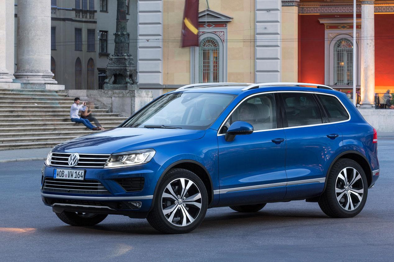 Contacto: Volkswagen Touareg, más limpio y equipado