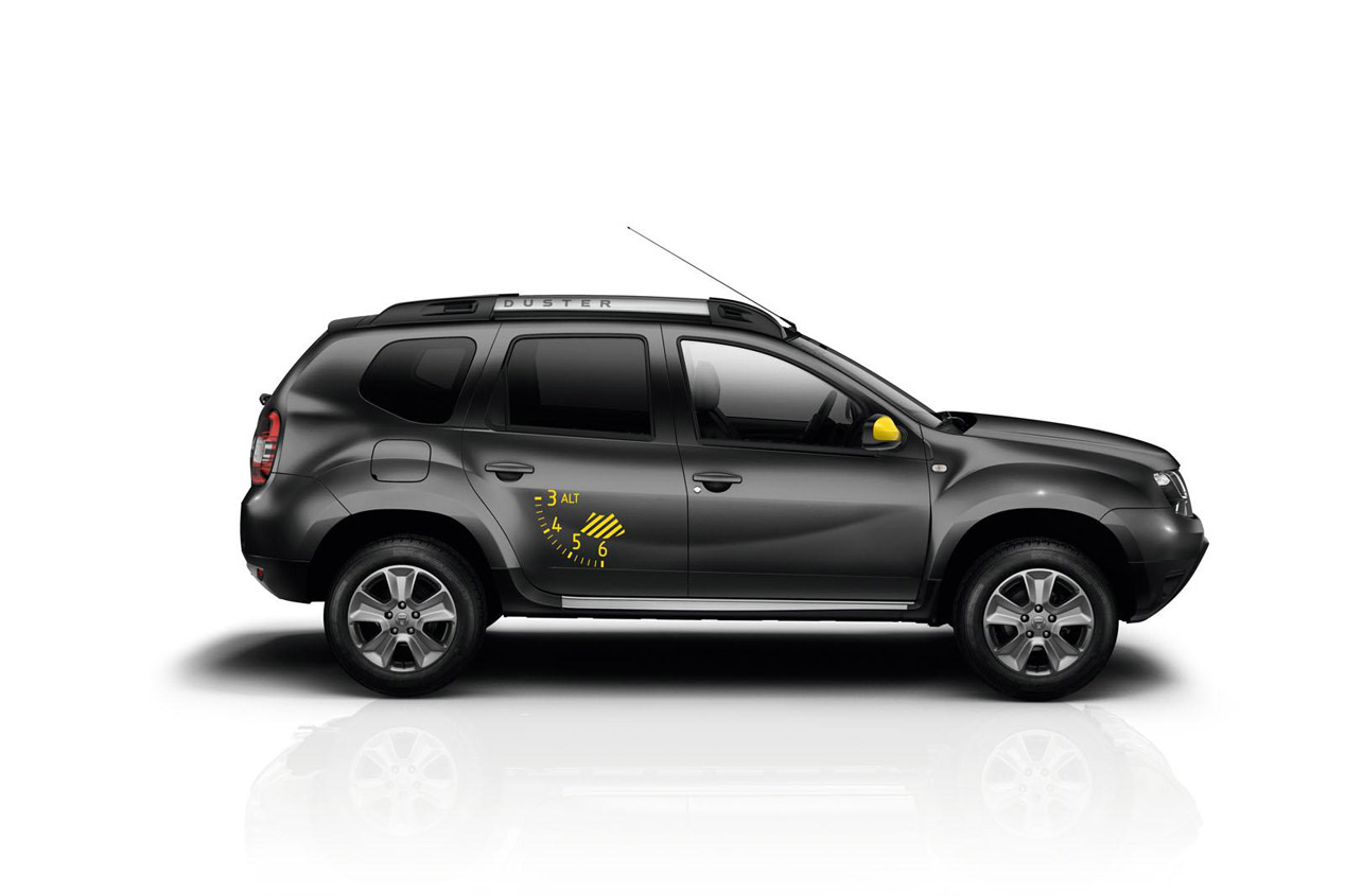 Dacia Duster Air y Sandero Black Touch