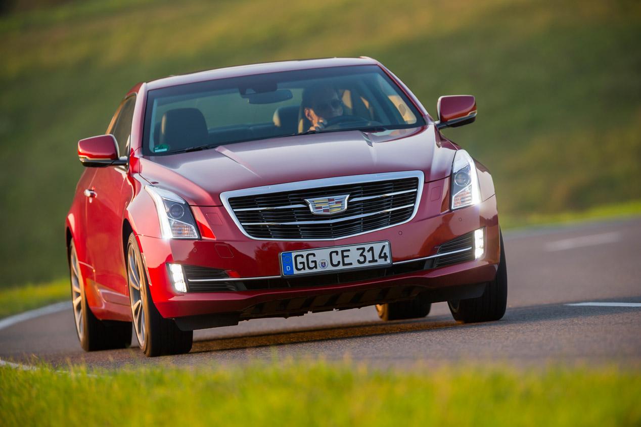 Contacto: Cadillac ATS Coupé
