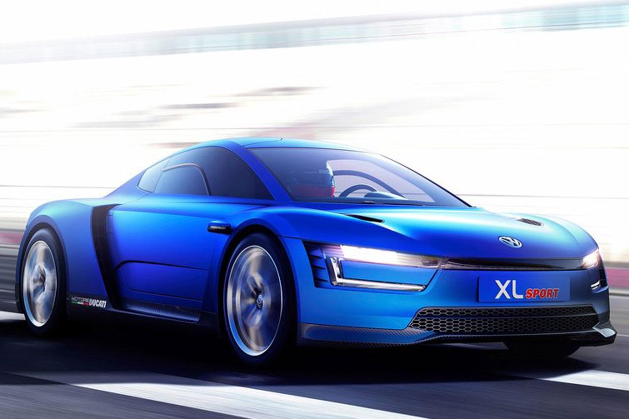 Volkswagen XL Sport, con motor Ducati de 200  CV