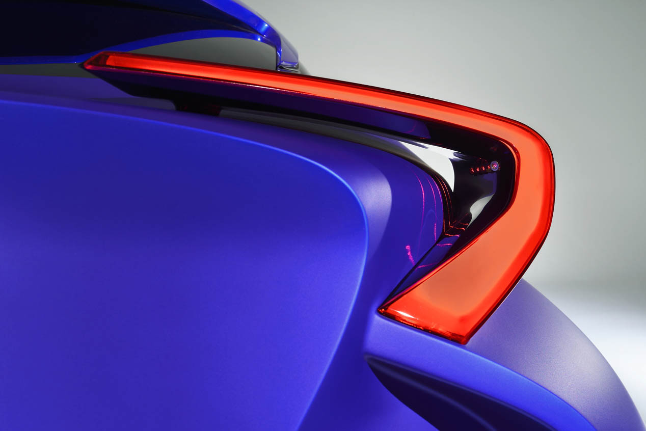 Toyota C-HR Concept, híbrido rompedor en París