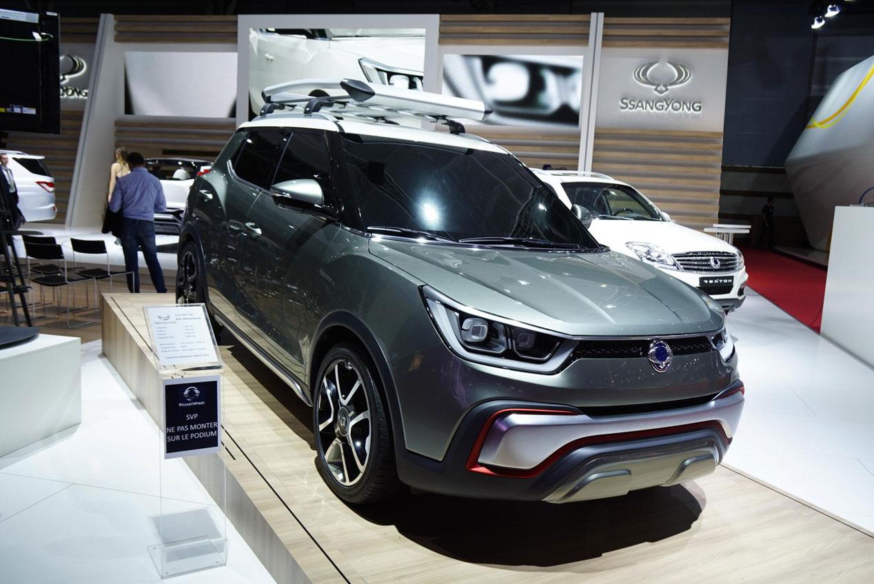 Ssangyong XIV 'Air' y 'Adventure', dos concepts para el Salón de París 2014