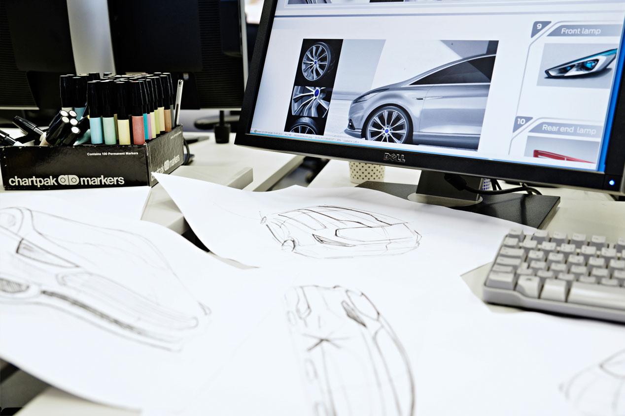 Así se diseña un coche desde el boceto