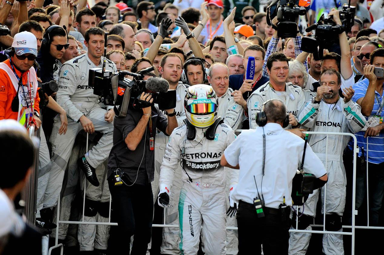 GP Rusia 2014: la carrera