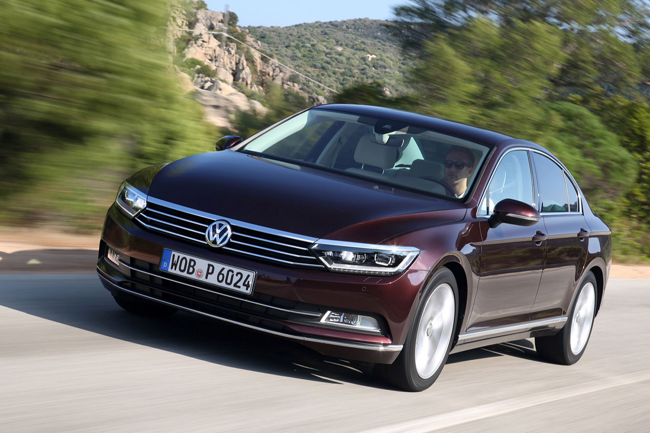 VContacto: VW Passat, más Premium ¿más líder?
