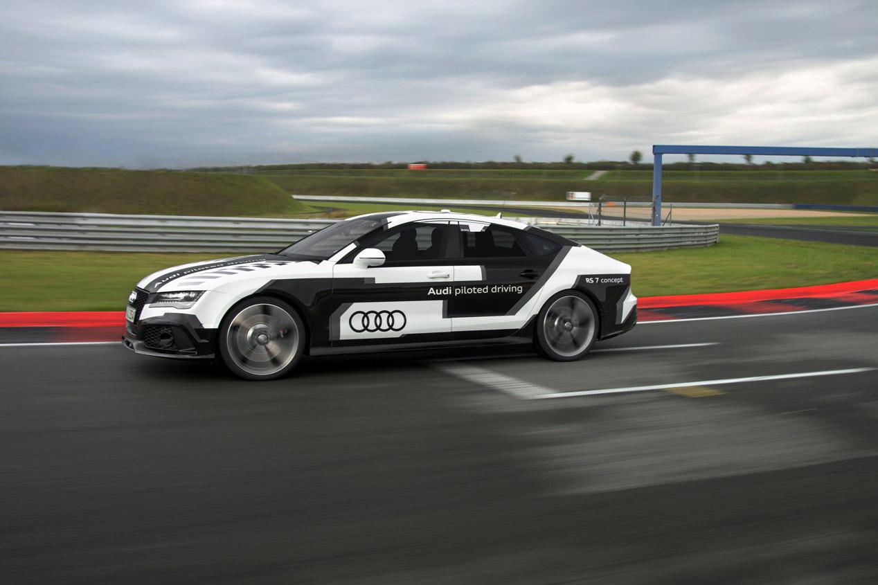 Audi RS7 Sportback pilotado