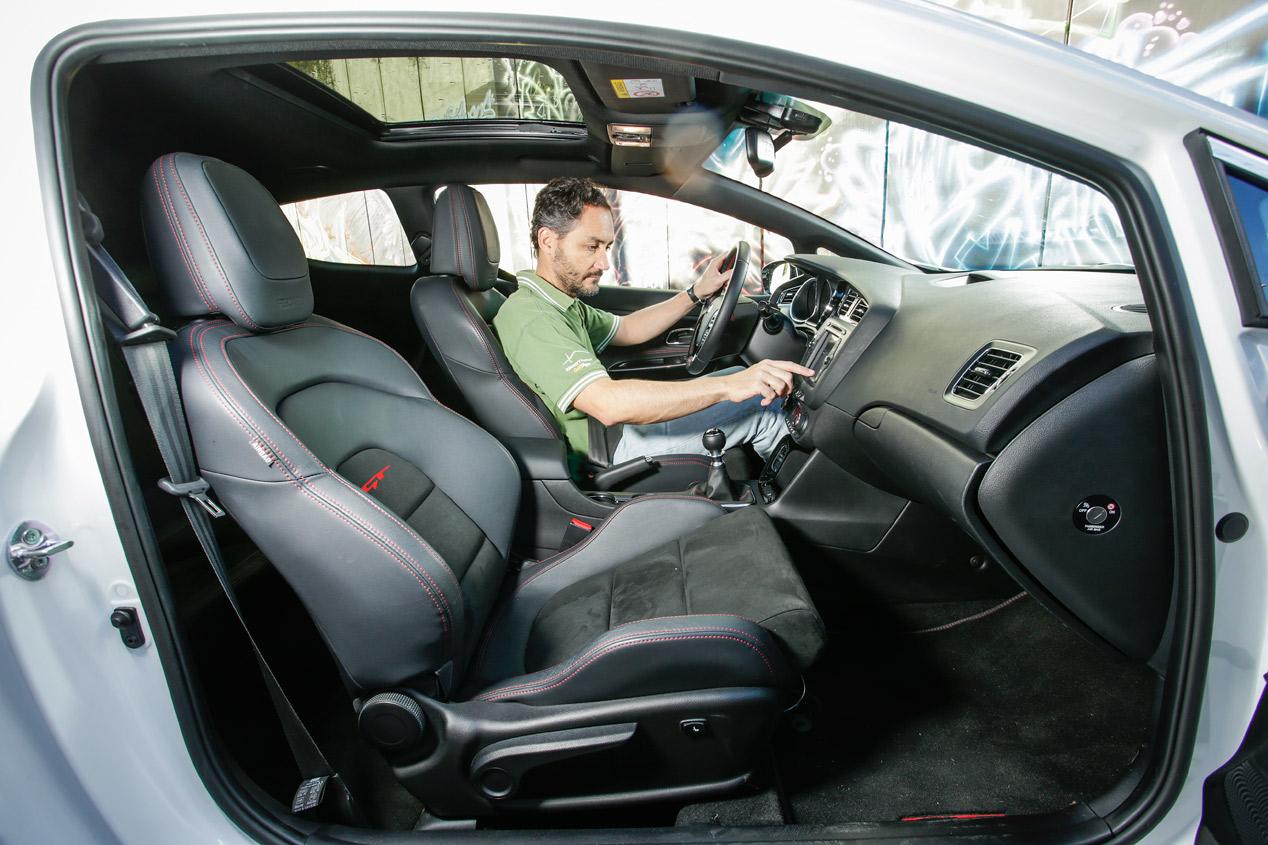 Prueba Kia Ceed pro cee'd 1.6 T-GDI GT