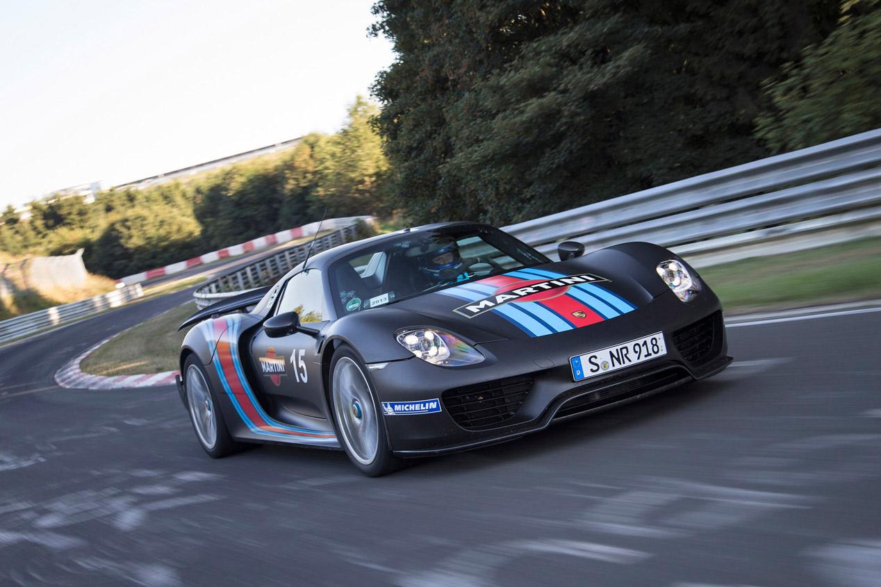 Coches más rápidos en Nürburgring