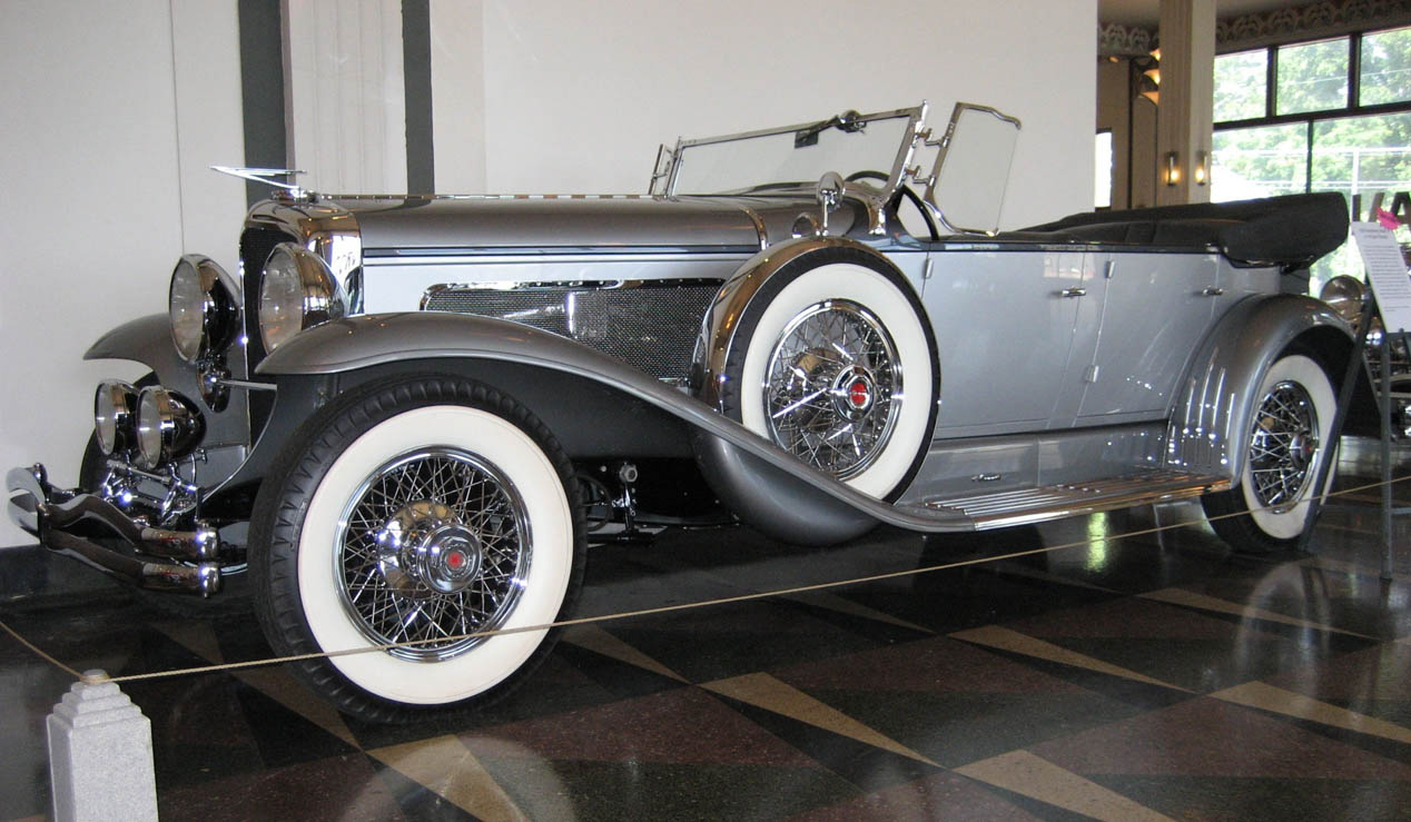 Duesenberg Model J de 'Spinout'