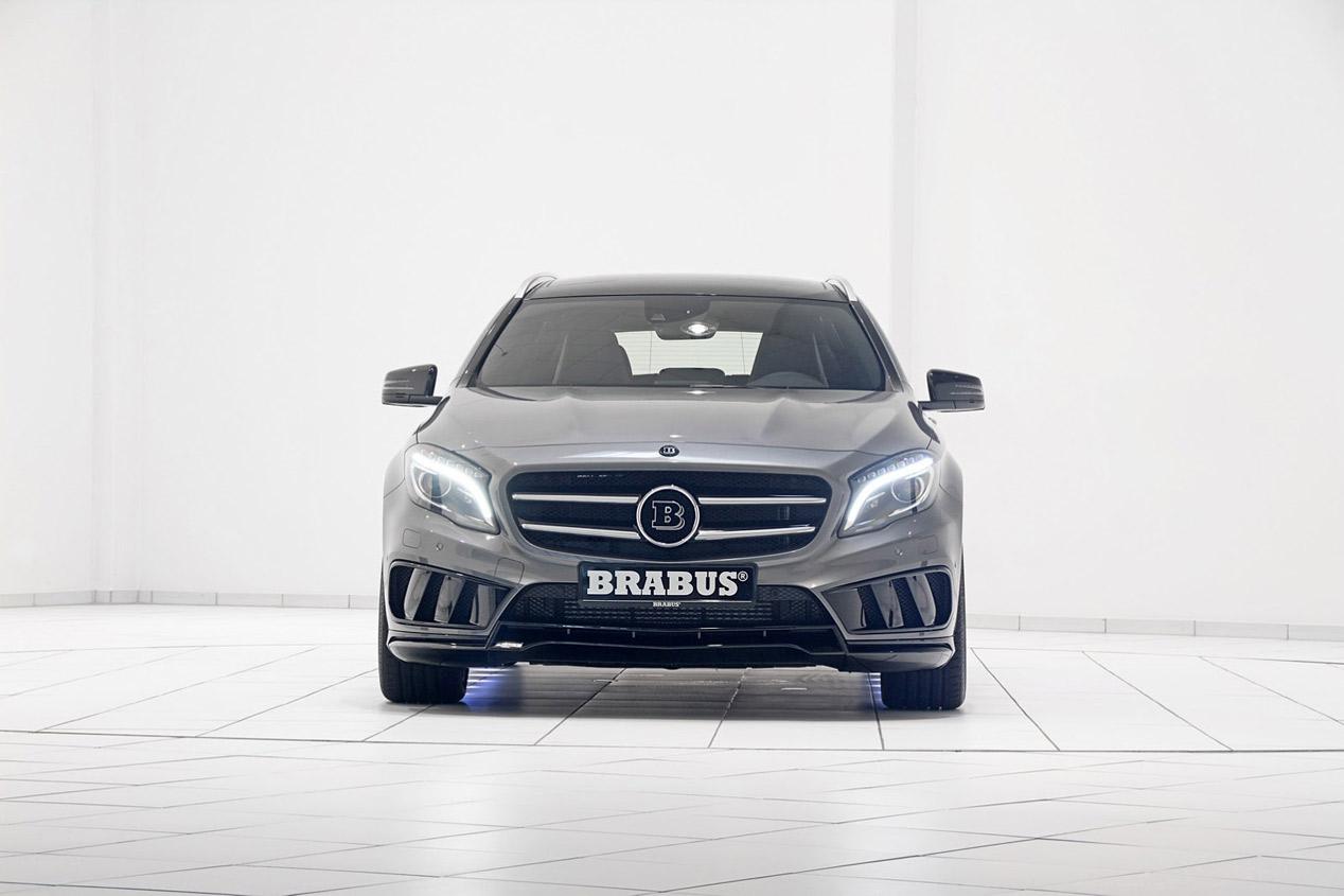 Brabus inyecta 400 CV al Mercedes GLA 45 AMG