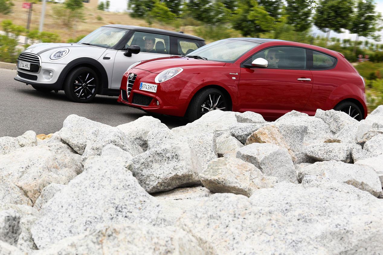 Alfa Romeo Mito 1.6 JTDM vs Mini Cooper D